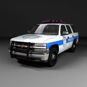 police chevrolet tahoe mk2 max