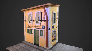 3D model house real-time games