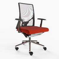 3D izzy wabi office chair