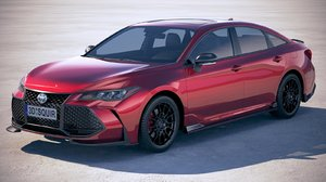 toyota avalon trd 3D model