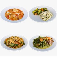 3D meal plate