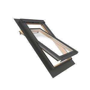 3D model velux roof windows