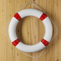 lifebuoy life buoy 3D model