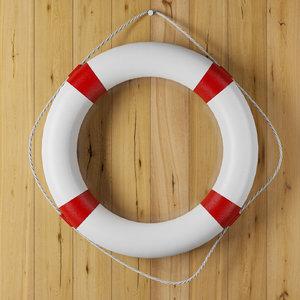 lifebuoy life buoy 3D model