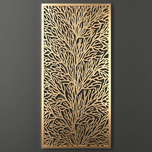 decorative panel 3D
