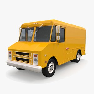 3D chevrolet step-van 1968-1992