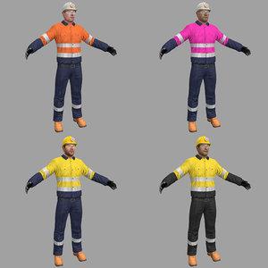 pack miner 3D model