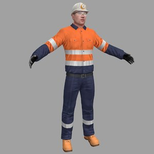 miner safety worker model