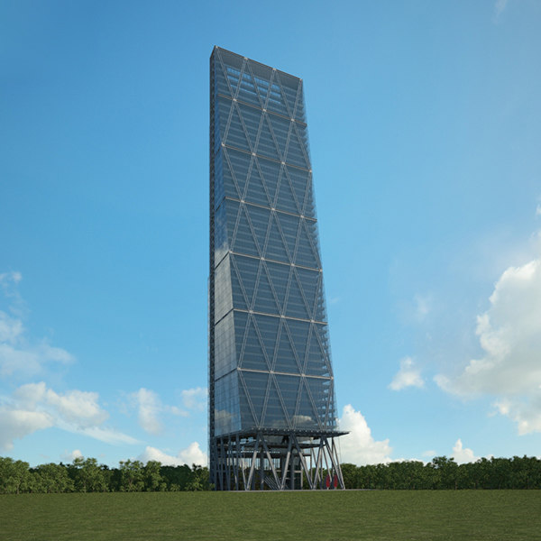 leadenhall building 3D model