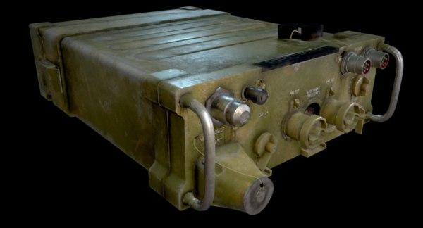 3D model prc-77 radio