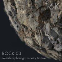 Rock 03 - 16K seamless photogrammetry texture