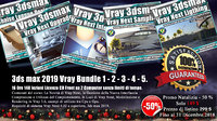 3ds max 2019 Vray Bundle 1 - 2 - 3 - 4 - 5