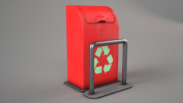 recycle box 3D model
