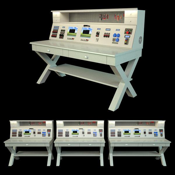 3D model calibration test benches