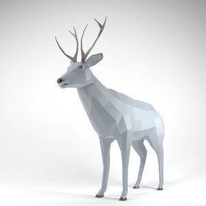 deer animation 3D
