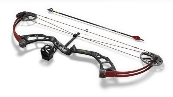 3D compound bow