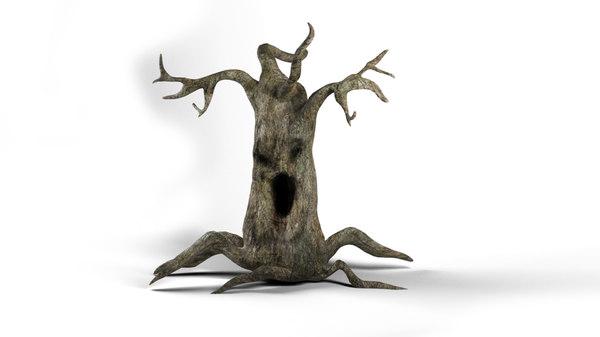 3D evil tree
