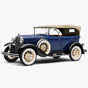 1931 phaeton model