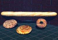 3D breads model