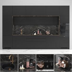 3D kitchen inge model