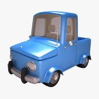 cartoon truck car 3D