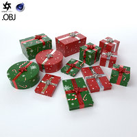 Christmas Present Set - 2 Patterns