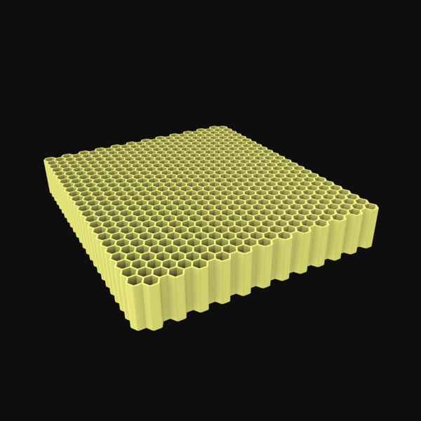 honey honeycomb comb 3D model
