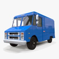 3D chevrolet step-van 125 model