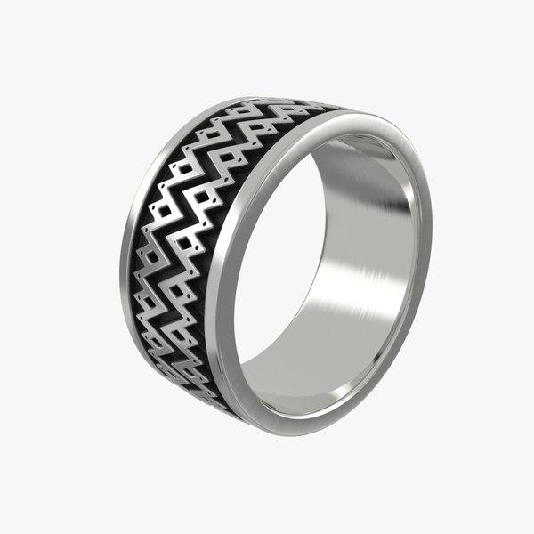 ring stl printing 3D model
