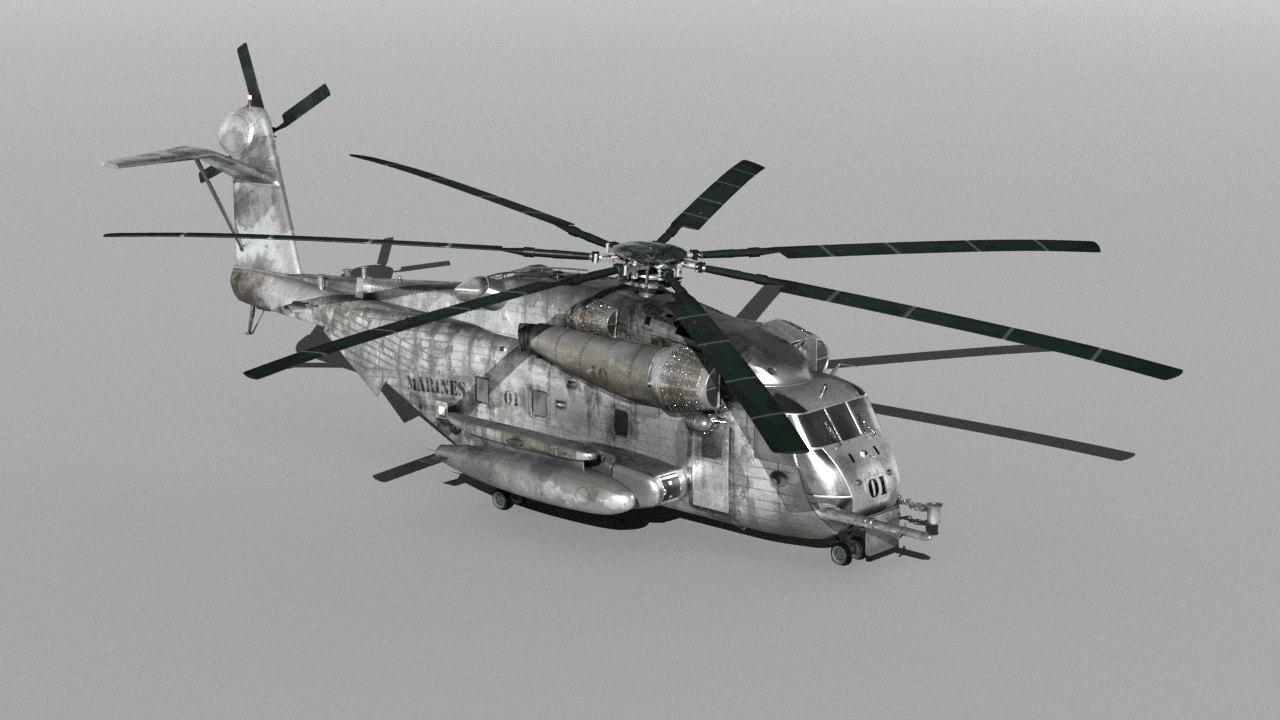 3D ch53 stallion