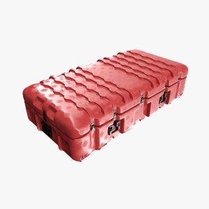 military case blender 3D model