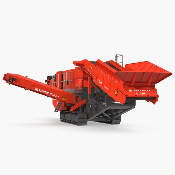 terex finlay c1540 mobile 3D