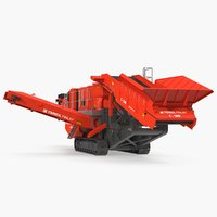 terex finlay c1540 mobile 3D