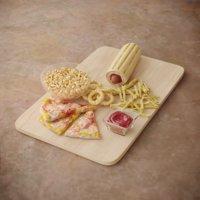 fasfood dinner food 3D