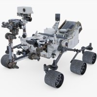 3D model mars curiosity