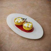 3D breakfast omelette pepper