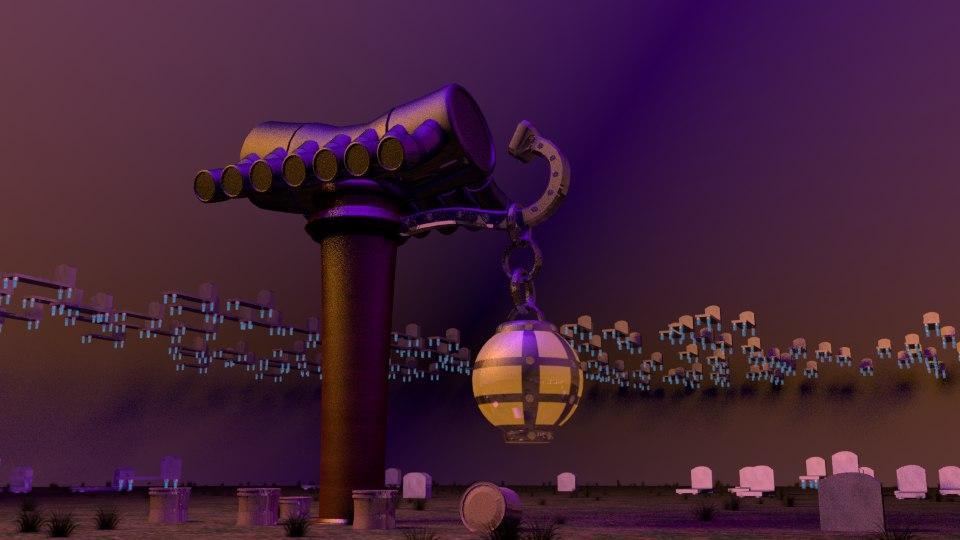 graveyard games 3D model