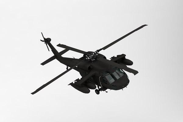 sikorsky uh-60 uh 3D
