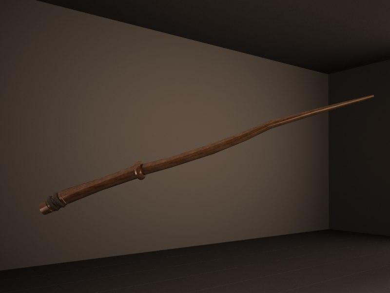 3D magic wand