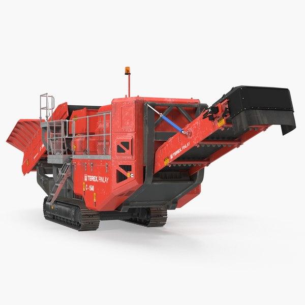 3D terex finlay hydraulic cone