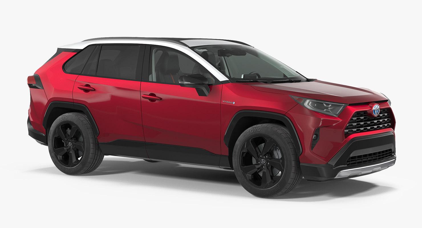toyota rav4 hybrid 2019 model