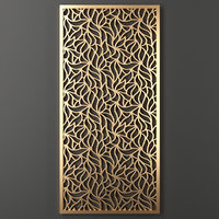 3D decorative panel model