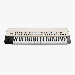 korg kingkorg 61 key 3D
