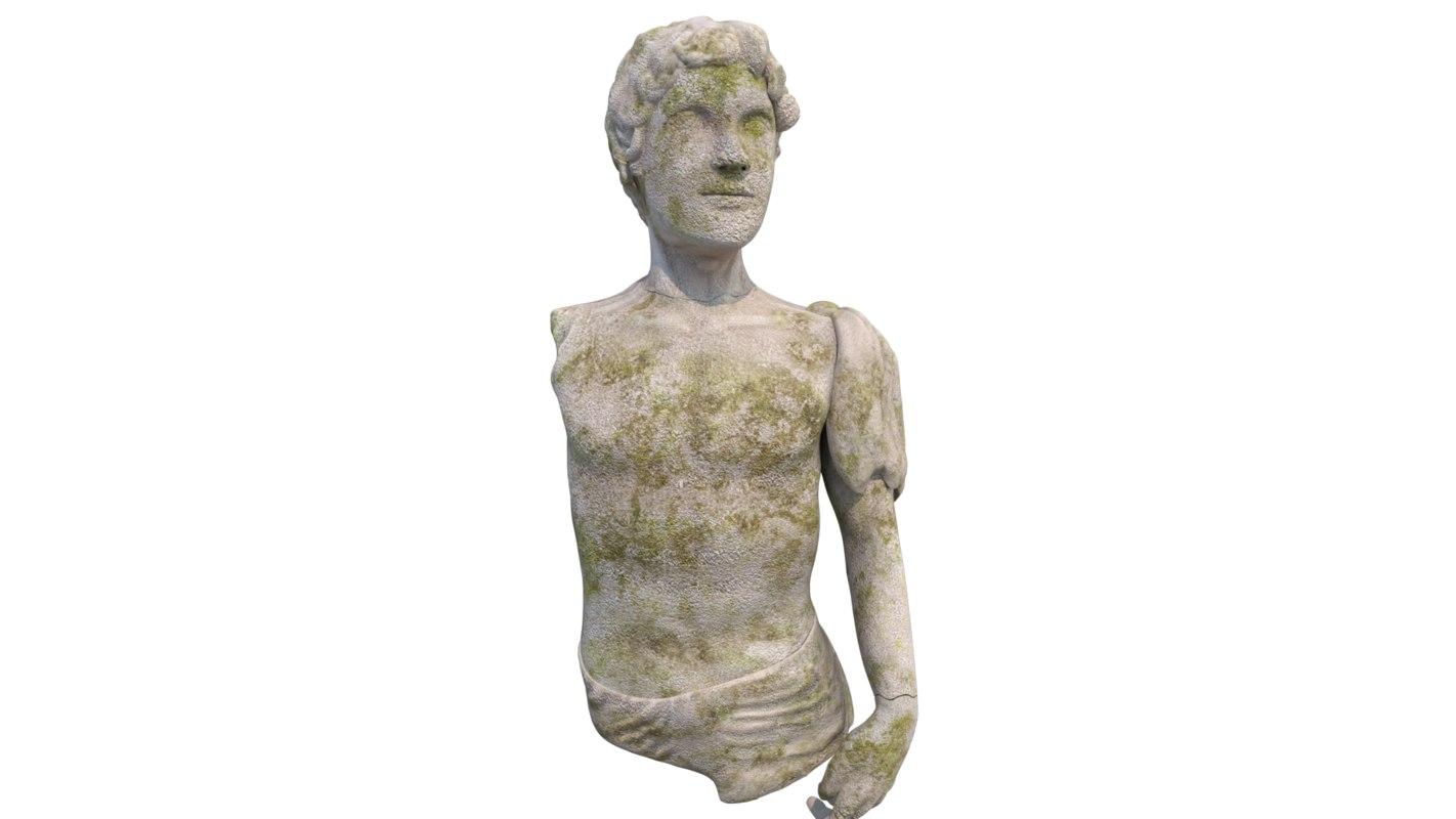 alexander statue 3D