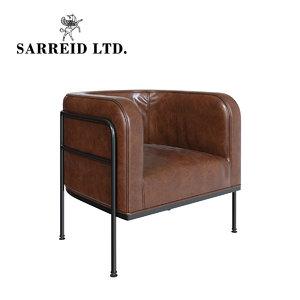 sarreid breda barrel chair model