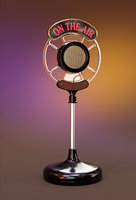 3D broadcast radio microphone