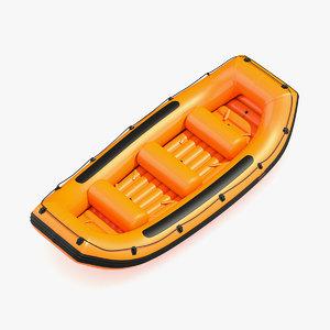 3D raft river