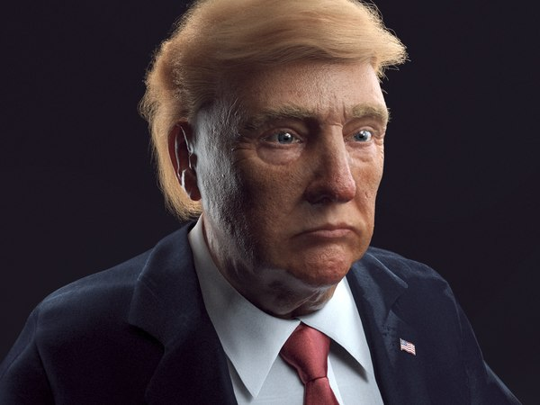3D head body trump