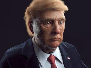 3D head body trump