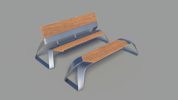bench01 3D